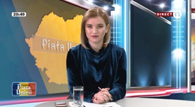 """Piața Unirii"" cu Corina Bezer (16 noiembrie 2017)"