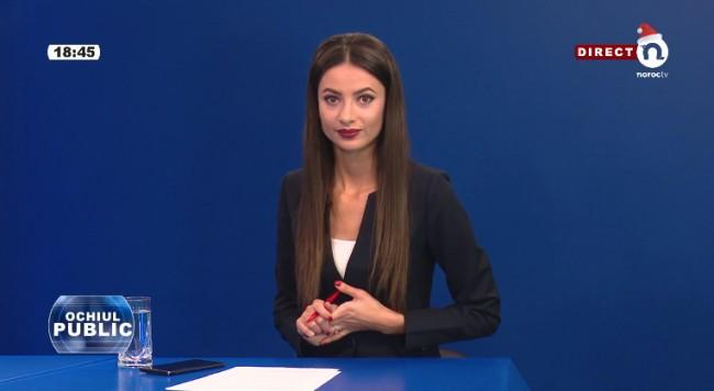 cu Corina Mîrzac (7 decembrie 2017)